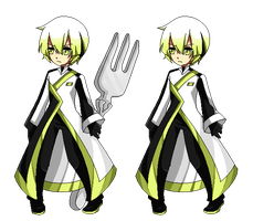 :UTAU:Battle:KUBI:SHUNE:Sprite: by KaiSuki