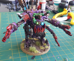 Ork DeffDread by Kits252