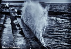A Wave from Southwold 1 by Okavanga