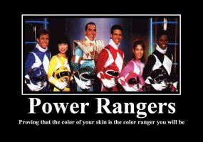 The Power Rangers by rumper1