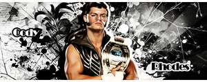 Intercontinental Champion Cody Rhodes by XxJer3mxX