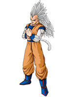 Vegeta SSJ5 by GokuGarlic