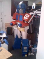 G1 Optimus Prime Cosplay by LtHoratioCaine
