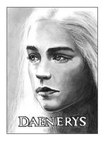Daenerys ATC by NicksPencil
