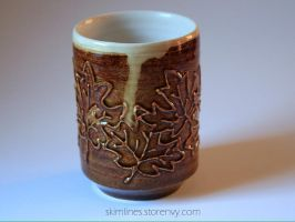 Maple syrup tea cup by skimlines