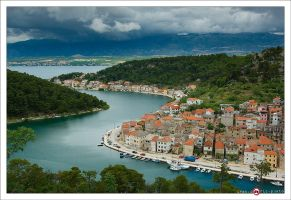 Novigrad on a cloudy day by ivancoric