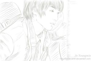 Youngmin at Incheon/Nanjing Lukou Airport by Adiaz-Airtif