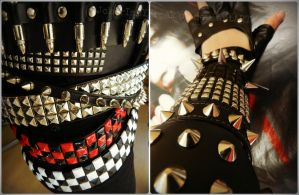 Studded Spiky and Sparkling by JokerIsMYFreak