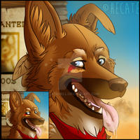 Tayler avatar - Naturama commission by hecatehell