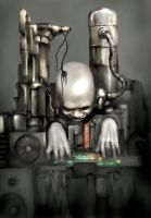 biomechanical dj by lemuren