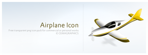 Airplane Icon by cemagraphics