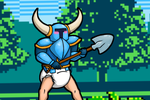 Shovel Knight and the curse of Crinkle Knight by Hira-Dontell