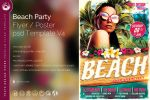 Beach Party Flyer Template V4 by Thats-Design