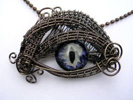 Wire Wrap - Dawn Void Silvery Glow 2 Limited by LadyPirotessa