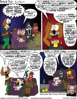 Perky and Slick: Nightmare On Dignity Street by the-gil-monster