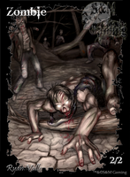 Official Zombie Token Two by SandM-Gaming