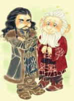 Thorin and Balin_2 by LinART