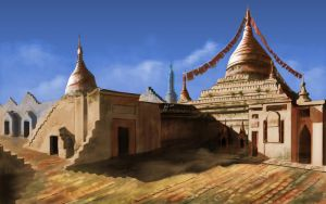 Temples by syllynce