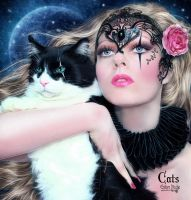 Cats by EstherPuche-Art