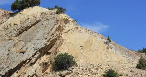 Ripple Marks in Jurassic Morrison Formation by LEXLOTHOR
