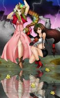 fighting until the end by DarkRinoa88