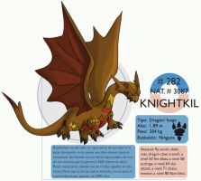 Pokemon Oryu 282 Knightkil by shinyscyther