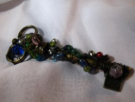 Assemblage Key 2 WIP by Dellessanna