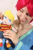 MOTHER 3 - Kumatora cosplay 4 by alandria7