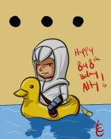 Happy Birthday Altair by Cherry-Chain