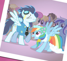 OMG SOARIN AND RAINBOWDASH by FennecHTF