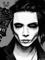 Andy Biersack by FcoVillalba