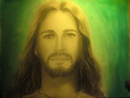 The Smiling Jesus Christ by DubiousOrchid