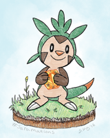 Chespin for Kamoegoi by saramations