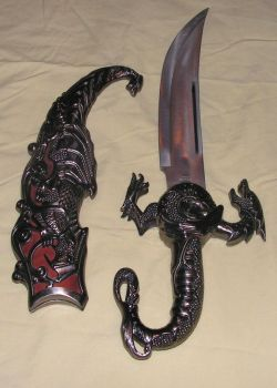 Dragon Dagger 3. by Cold-Hands24Stock