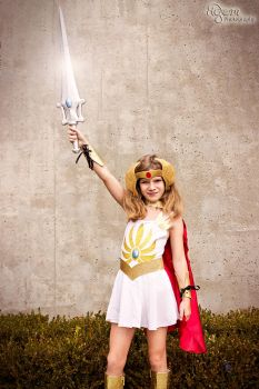 She-Ra by AGlimpseOfMe