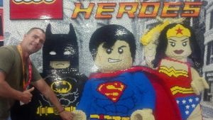 SDCC 2012 Me at the Lego's booth by corysmithart
