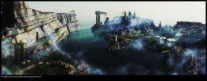 Matte Painting: Neibeis Port by Sad008
