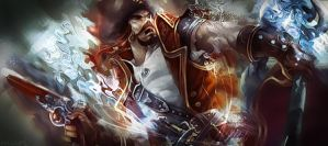 Gangplank - League Of Legends by MuRiKbr