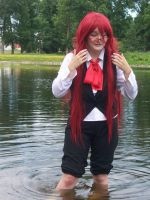 Grell in a River by Midnight-Dance-Angel