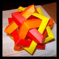 Six Intersecting Squares by NegaZero