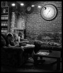 passing time I  BW by robinism