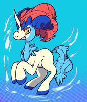 Keldeo by Nine-doodles