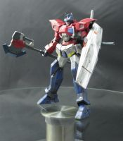 HG G-Exes  Ver. Prime [Battle Scuff] Armaments by AlmightyElemento