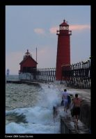 Grand Haven Sea Storm by CaspersCreations