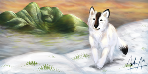 Gift for JeiDoll - Winter Hike by VexiWolf