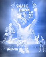 Uk Smack Down  Daniel Bryan Poster by ZyadSkylar