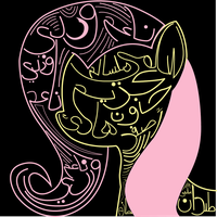 Fluttershy in Arabic by AaronMk