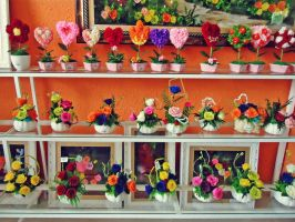 Paper Flower Shop by WillTC