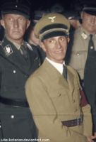 Joseph Paul Goebbels. (in colour) 28 by Julia-Koterias