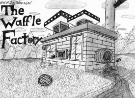 The Waffle Factory by magicwaffles123